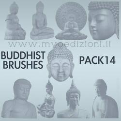 Buddhist Brushes 14