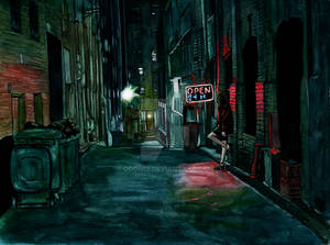 Back alley by Odomi2