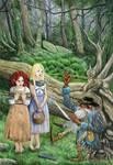 Snowhite-redrose