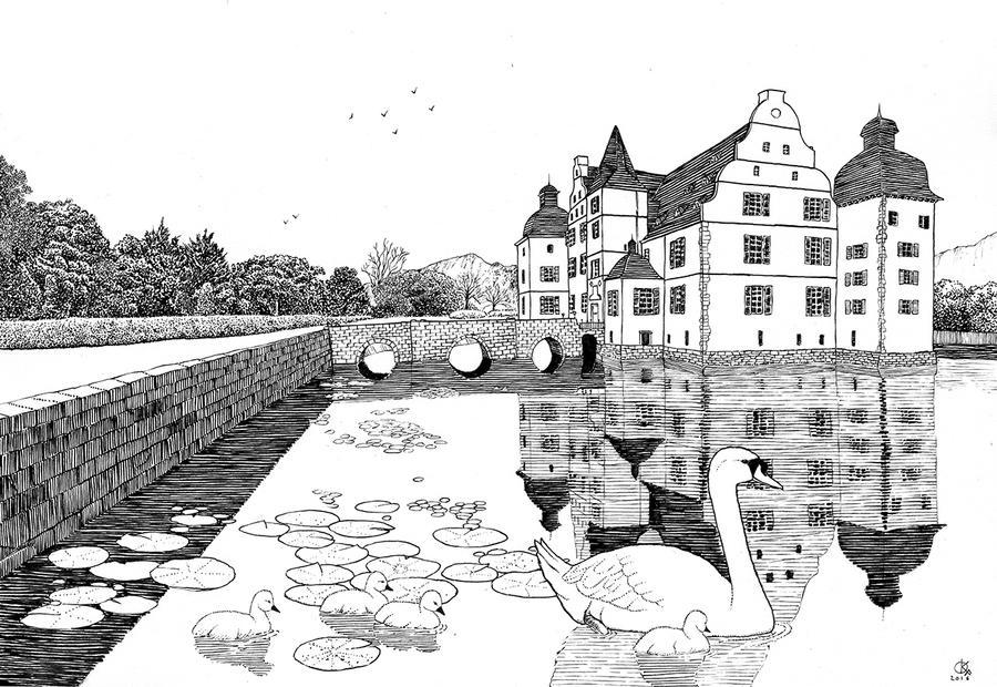 Castle by Odomi2