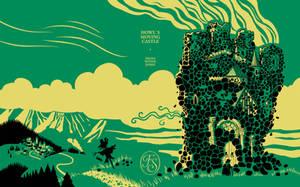 Howls moving castle cover design