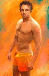 Muscled Mark Ruffalo