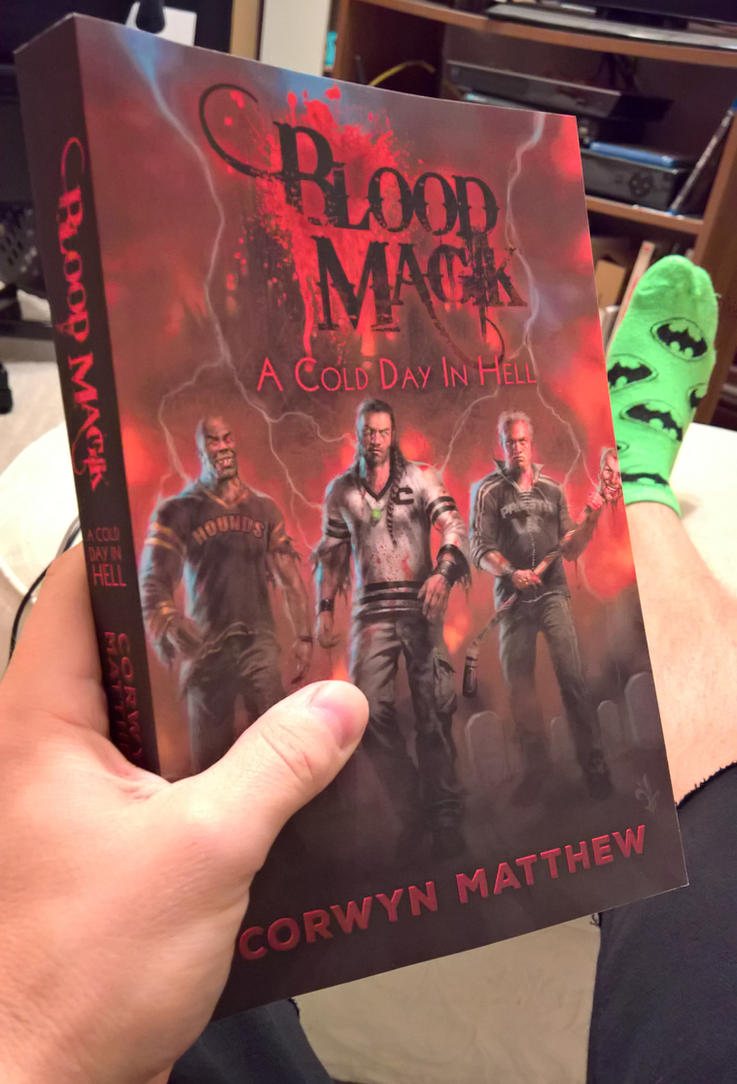 Zombie Horror and Gothic Socks by c0rwyn