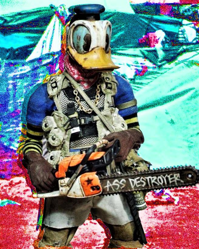 Donald the Chainsaw Sodomite by c0rwyn