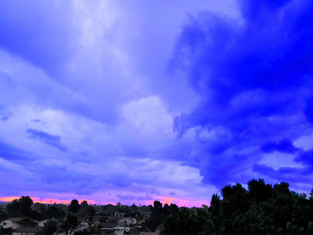 Gloomy Blue Dream by c0rwyn