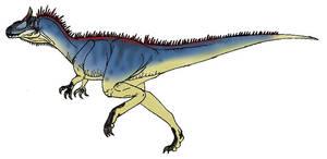 Cryolophosaurus by L34ndr0