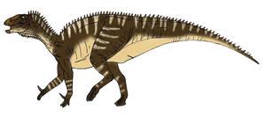 Iguanodon by L34ndr0