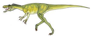 Herrerasaurus by L34ndr0