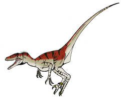 Utahraptor by L34ndr0
