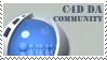 DA Cinema4d Community Stamp by cinema4d