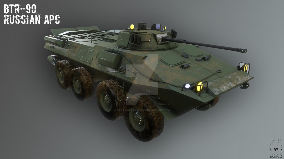 BTR-90 Russian APC by BahramAfandiyev