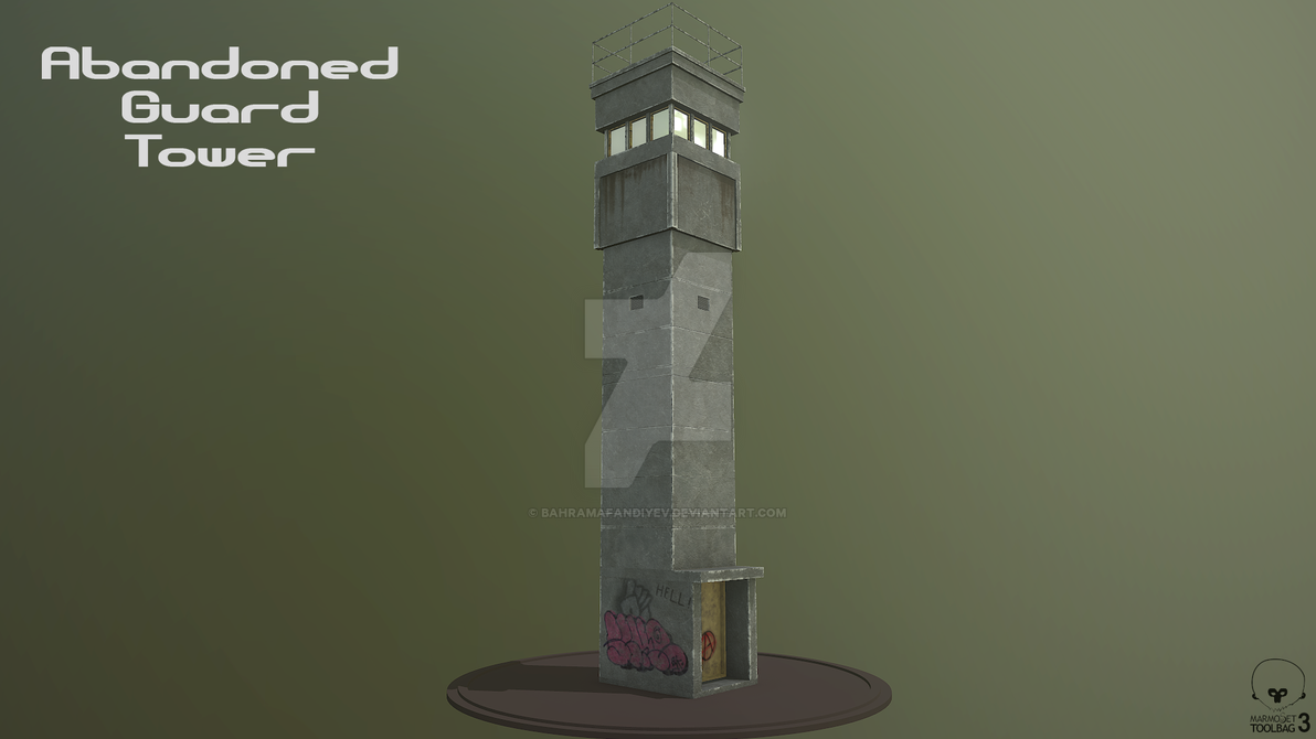 Abandoned Guard Tower 02 by BahramAfandiyev