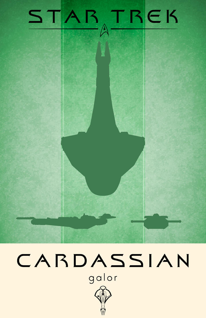 Star Trek Cardassian Galor by LiquidSoulDesign