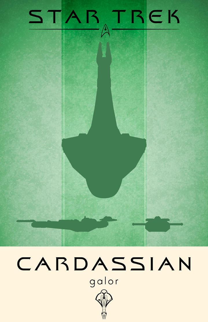 Star Trek Cardassian Galor by LiquidSoulDesign