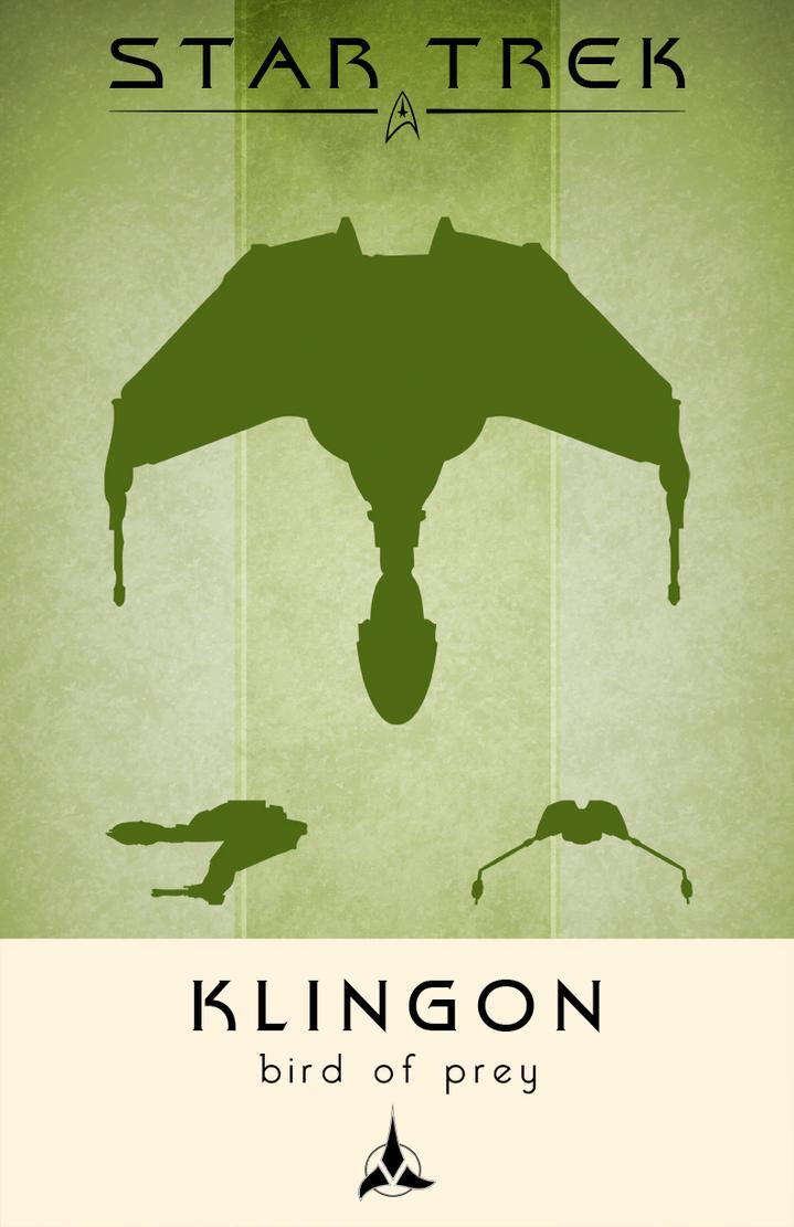 Star Trek Klingon Bird of Prey by LiquidSoulDesign