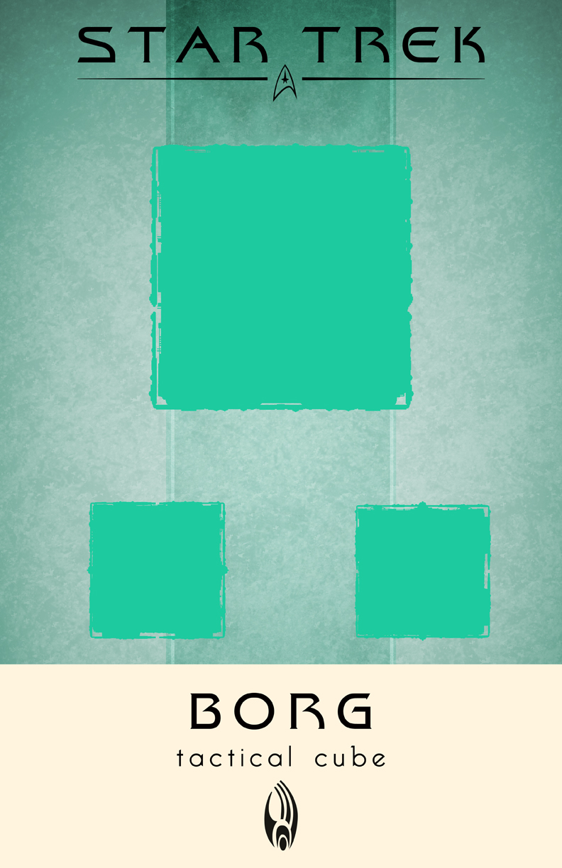 Star Trek Borg Tactical Cube by LiquidSoulDesign