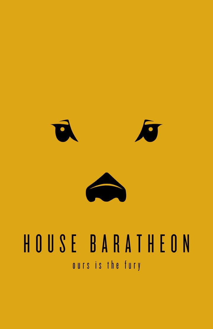 House Baratheon Minimalist by LiquidSoulDesign