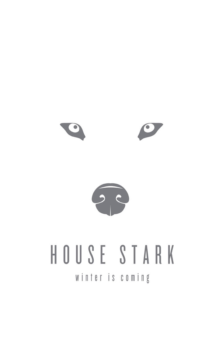House Stark Minimalist by LiquidSoulDesign