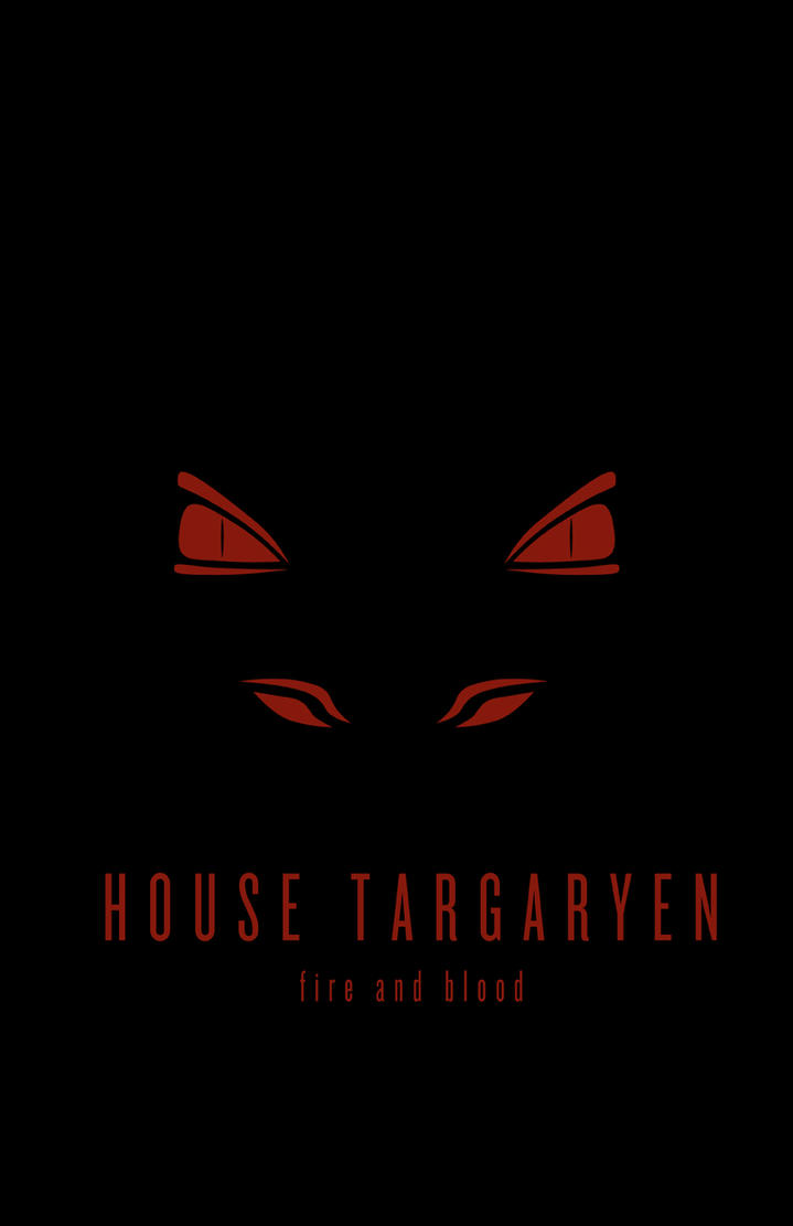 House targaryen minimalist by liquidsouldesign on deviantart for Minimalist house logo