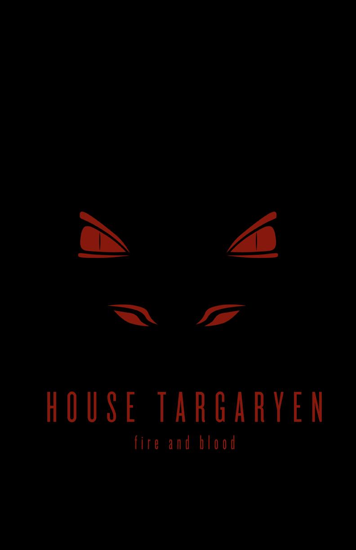 House Targaryen Minimalist by LiquidSoulDesign