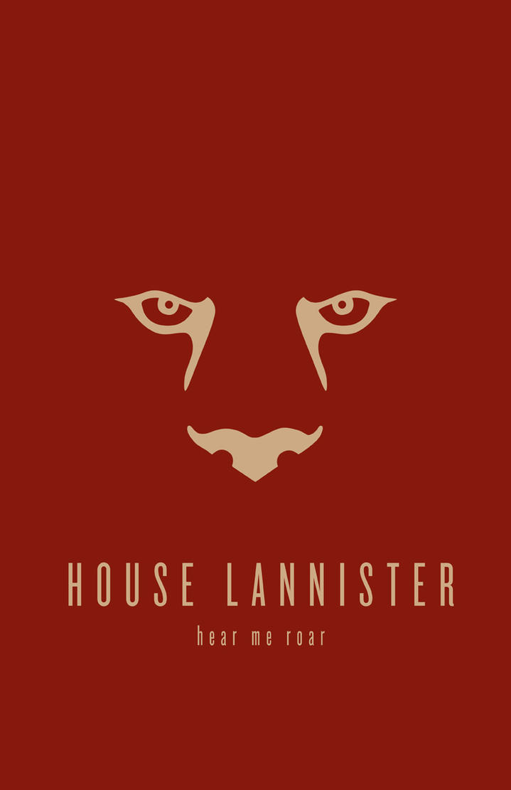 House Lannister Minimalist by LiquidSoulDesign