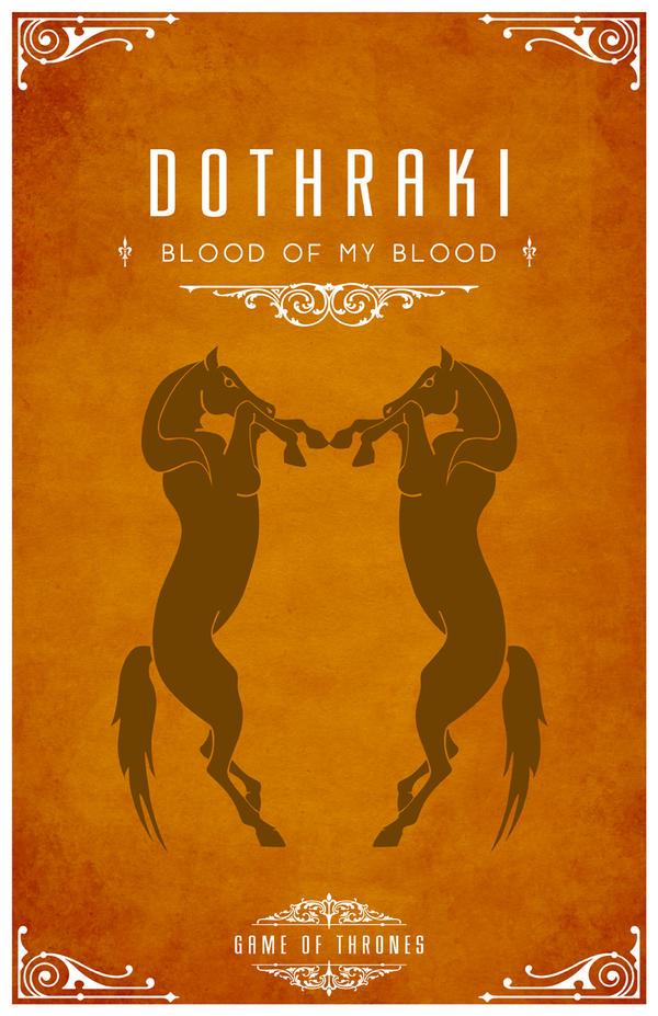 Dothraki by LiquidSoulDesign