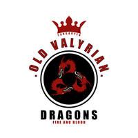 Targaryen Badge by LiquidSoulDesign