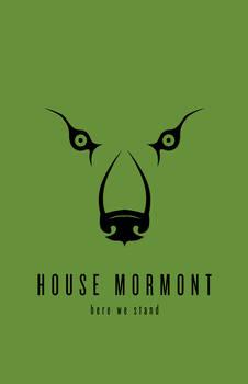 House Mormont Minimalist Poster