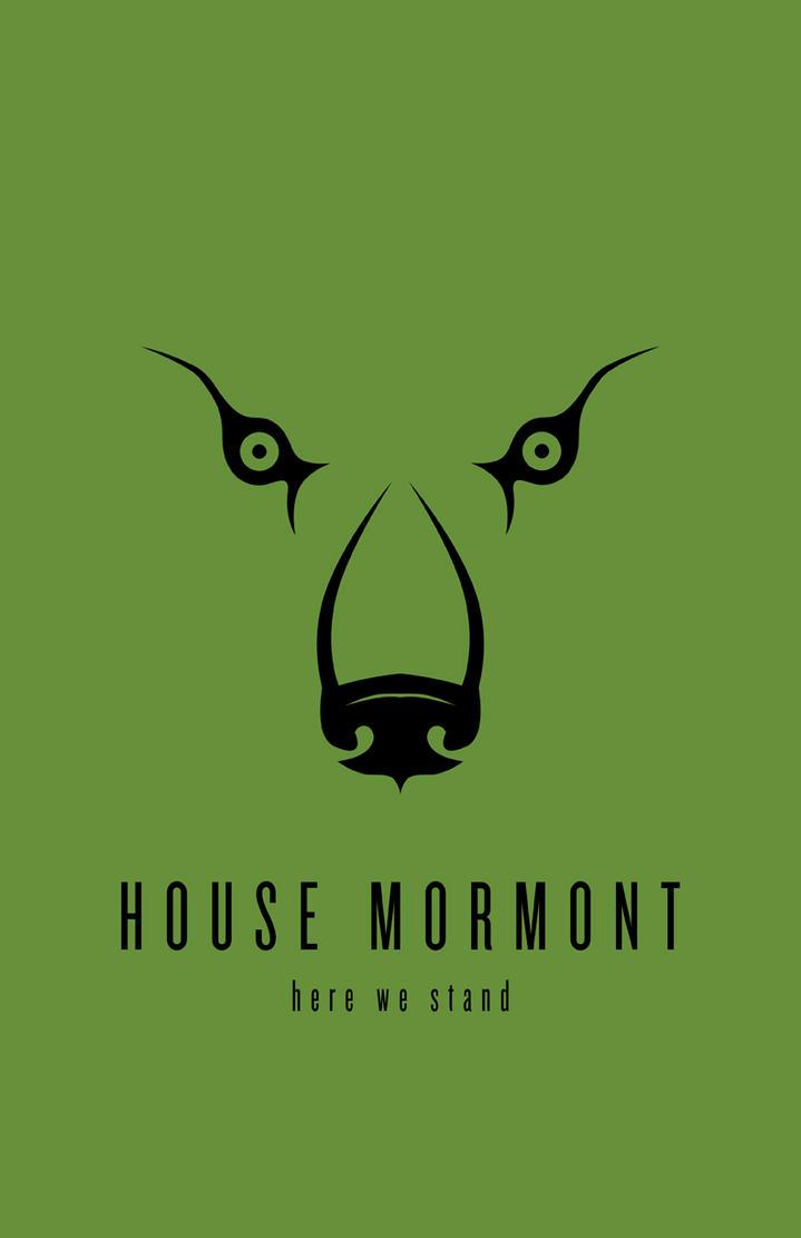 House Mormont Minimalist Poster by LiquidSoulDesign