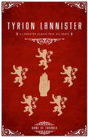 Tyrion Lannister Personal Sigil by LiquidSoulDesign