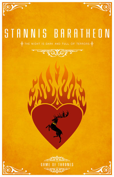 Stannis Baratheon Personal Sigil by LiquidSoulDesign