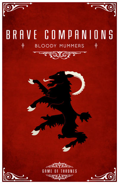 Brave Companions by LiquidSoulDesign