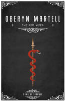 Oberyn Martell Personal Sigil by LiquidSoulDesign