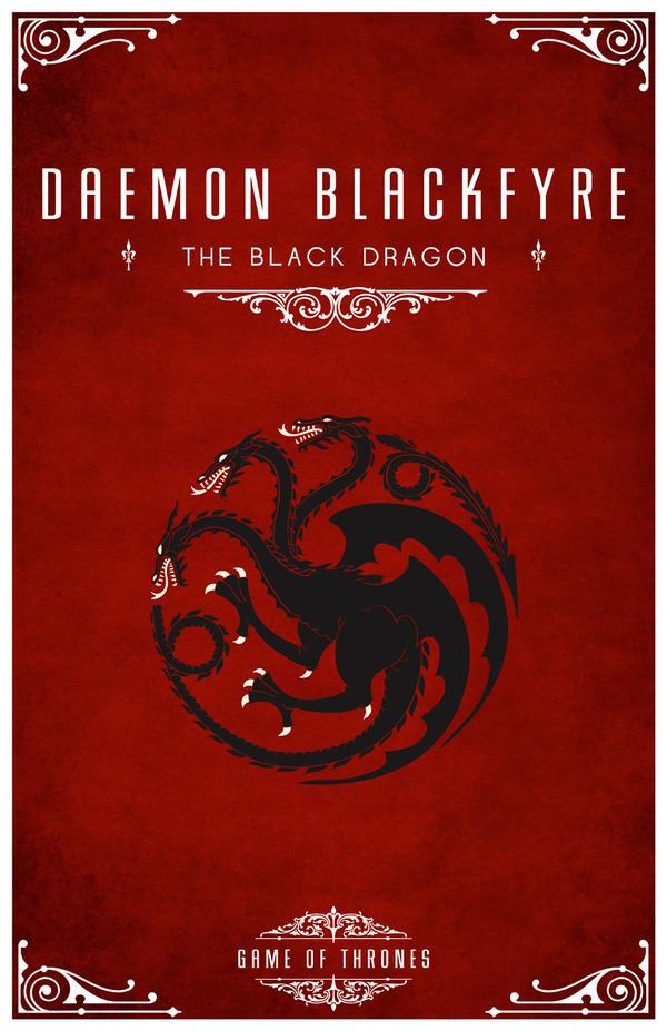 Daemon Blackfyre Personal Sigil by LiquidSoulDesign