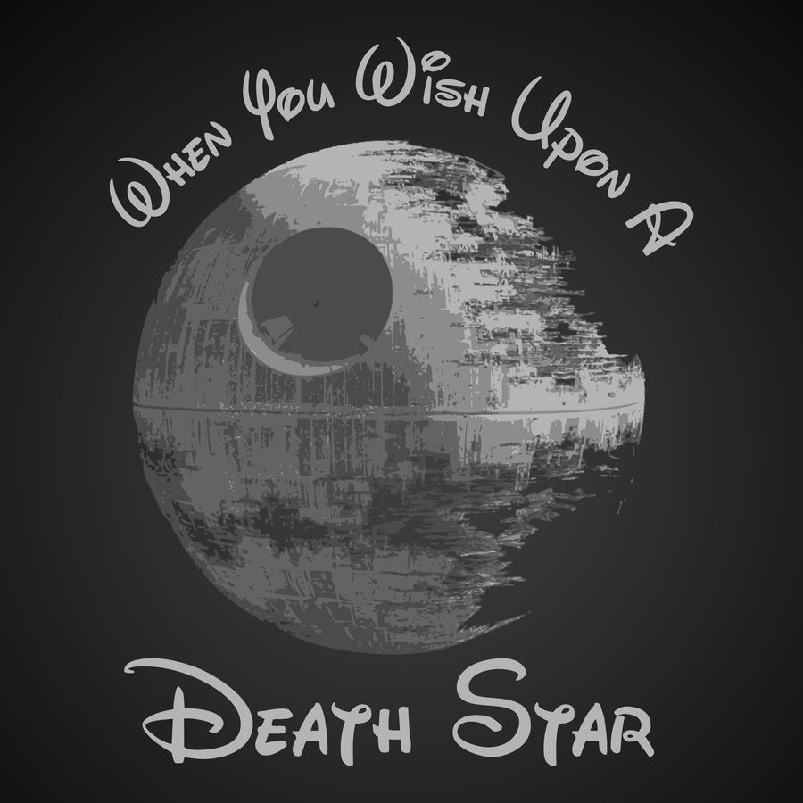 When You Wish Upon A Death Star by LiquidSoulDesign