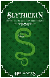 House Slytherin Poster