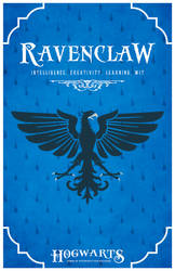House Ravenclaw Poster