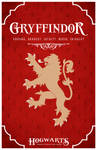 House Gryffindor Poster