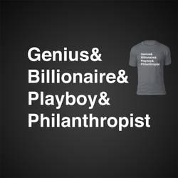 Genius Billionaire Playboy Philanthropist Jetset by LiquidSoulDesign