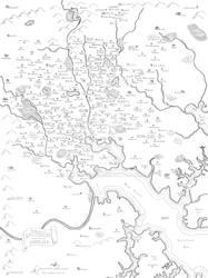 Baltimore fantasy map