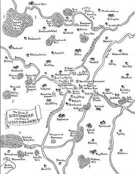 Birmingham fantasy map
