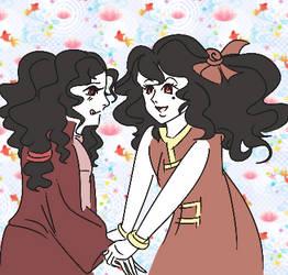 Them twins by ApricotSalad