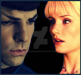 The Naked Time 2.0 - Spock and Nurse Chapel by xHush89x