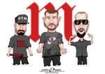 BUG Mafia Caricature