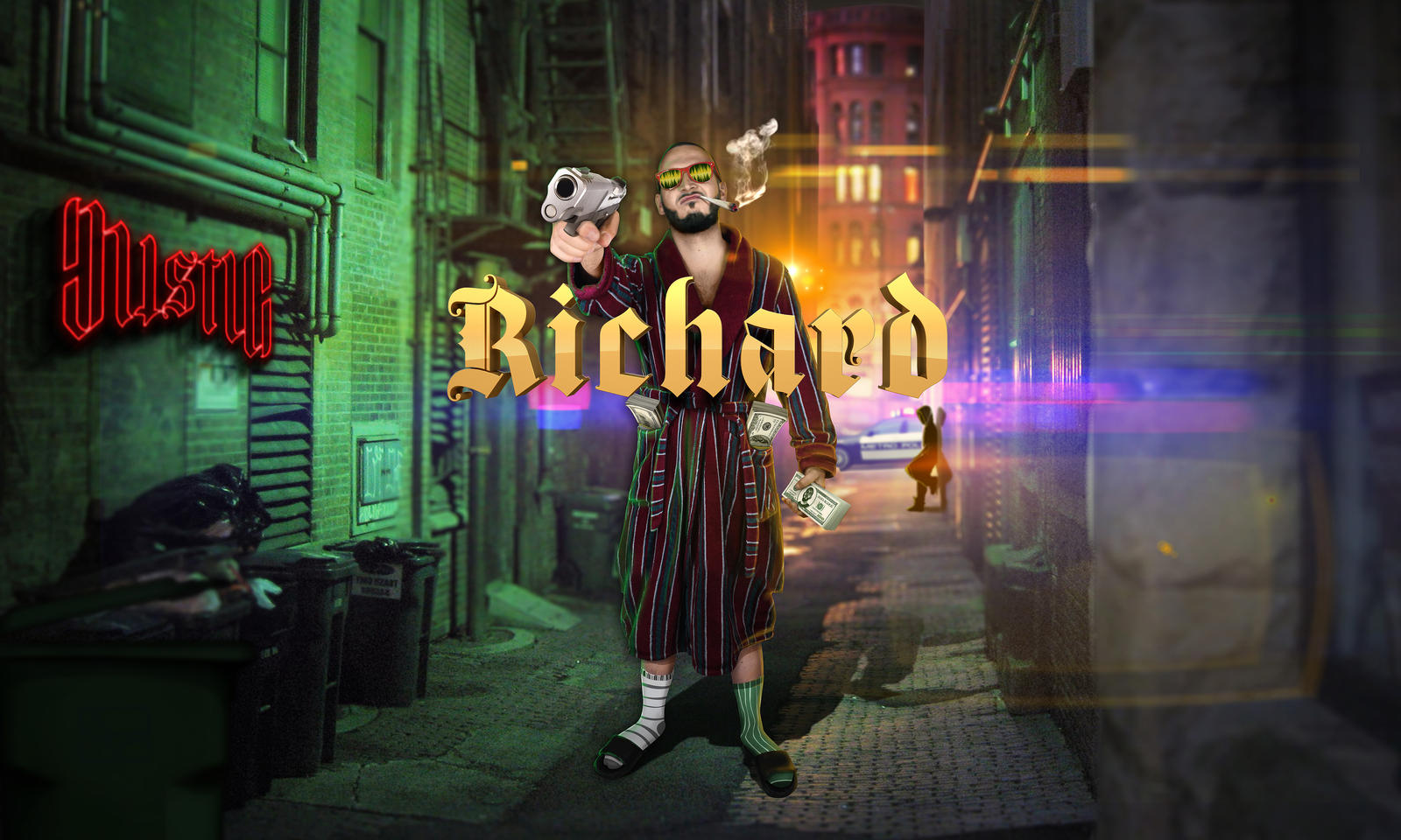 Mistic - Richard single artwork
