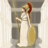 Athena 2 try by LadyOakheart