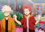BNHA: Bakugou and Kirishima by x-Cappuccino