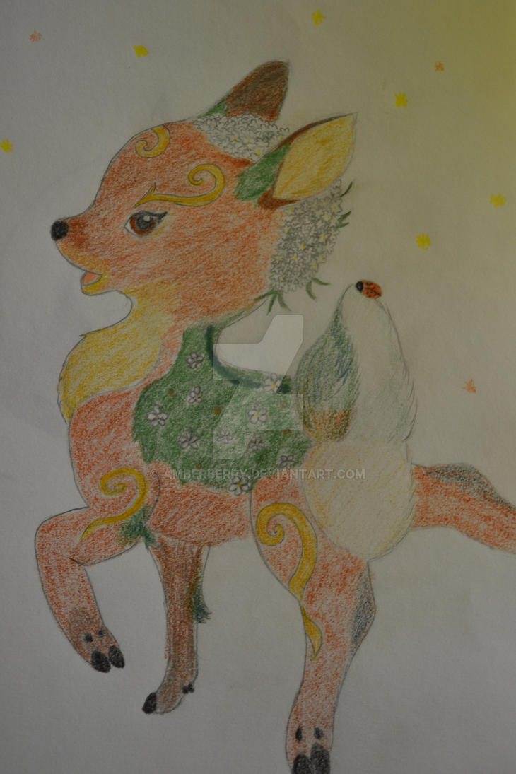 Valerifawn Mystical Beast of the Forest by Amberberry