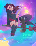 [Print]: Little Witch Academia Fanart