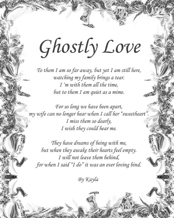 Ghostly Love Poem by Victorian-Angel